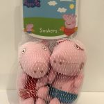 Zoggs Peppa Pig and George Pig super soft foam soakers