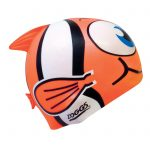 Zoggs Silicone Character hat Orange