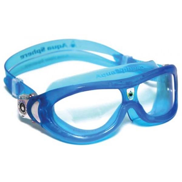 e5de35265a759e Aqua Sphere Childrens Seal Kid 2 Swimming Goggles Mask Clear Lens
