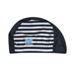 Splash About Navy and White Stripe hat